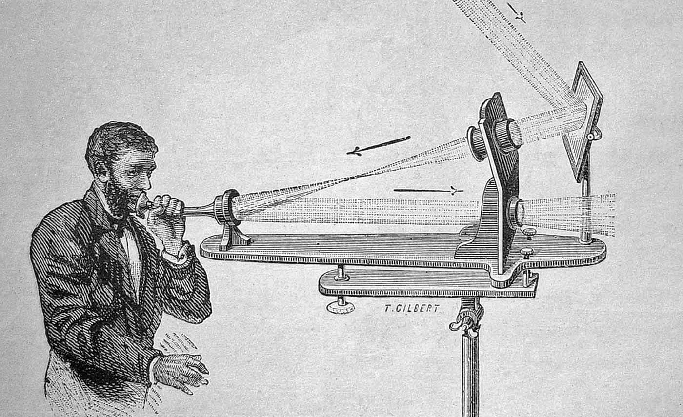 Alexander Bell invented the Photophone