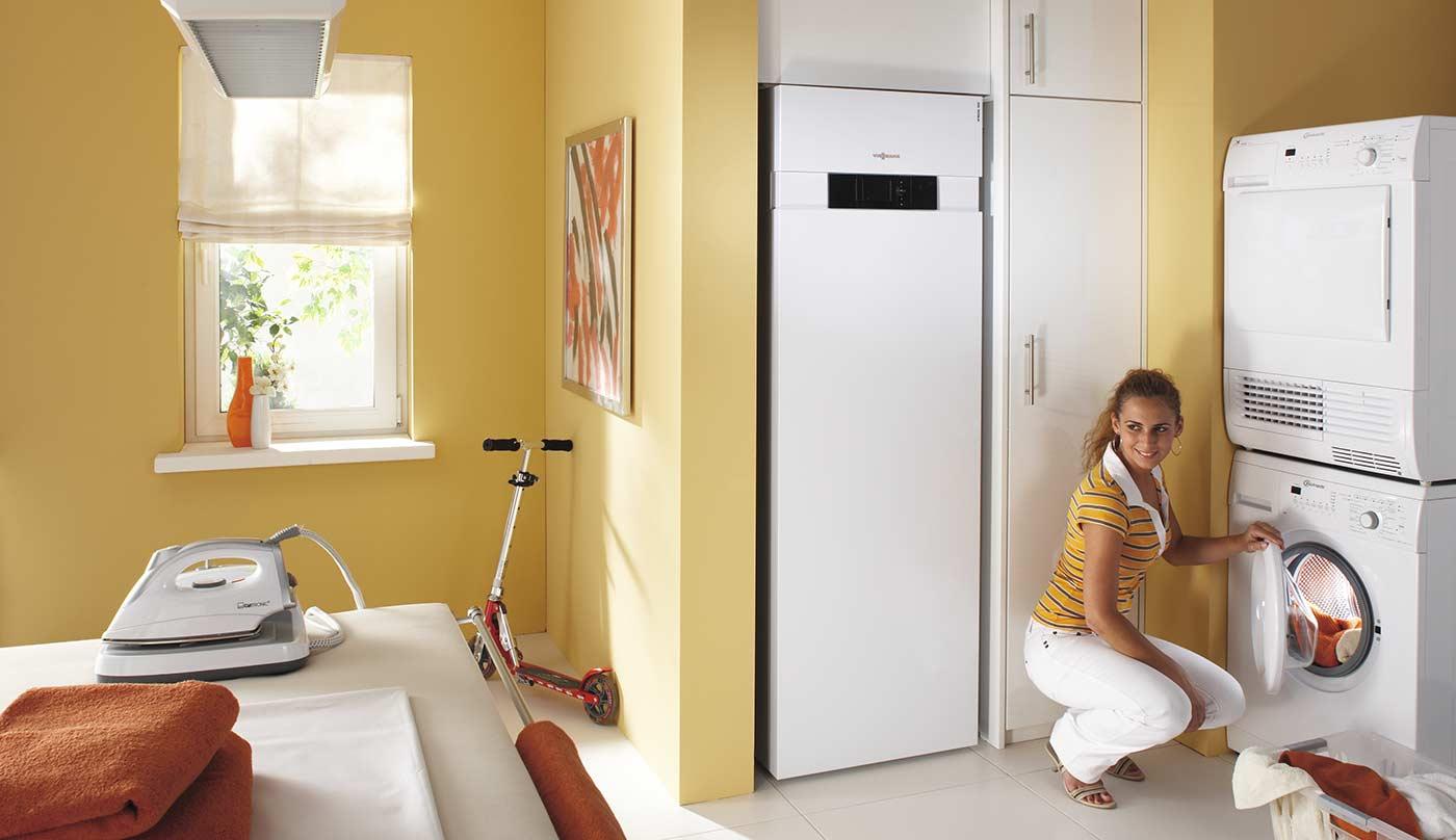 Оптимизация энергопотребления, тепловой насос Viessmann