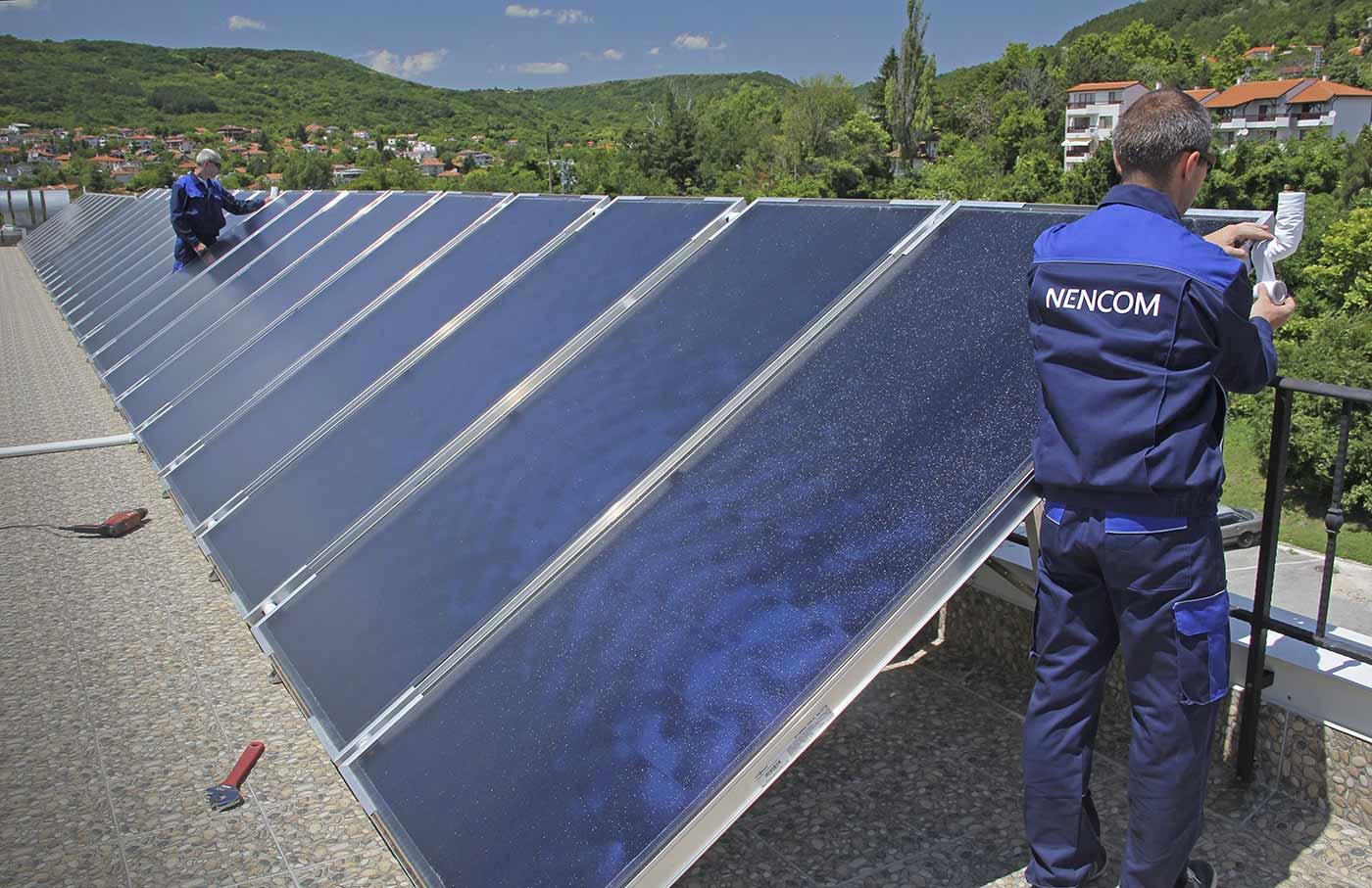 Топлоизолация на слънчевите колектори