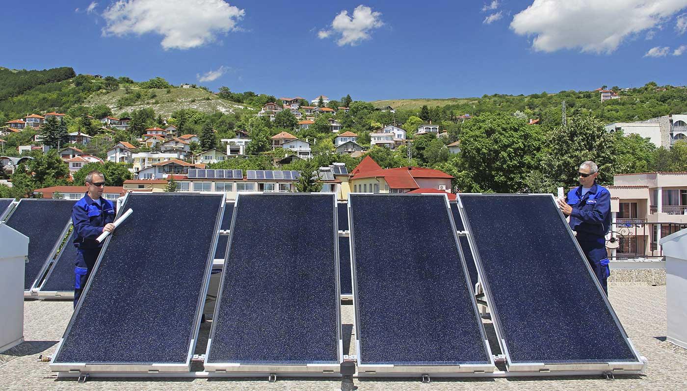 Solar collectors VIESSMANN VitosolFM
