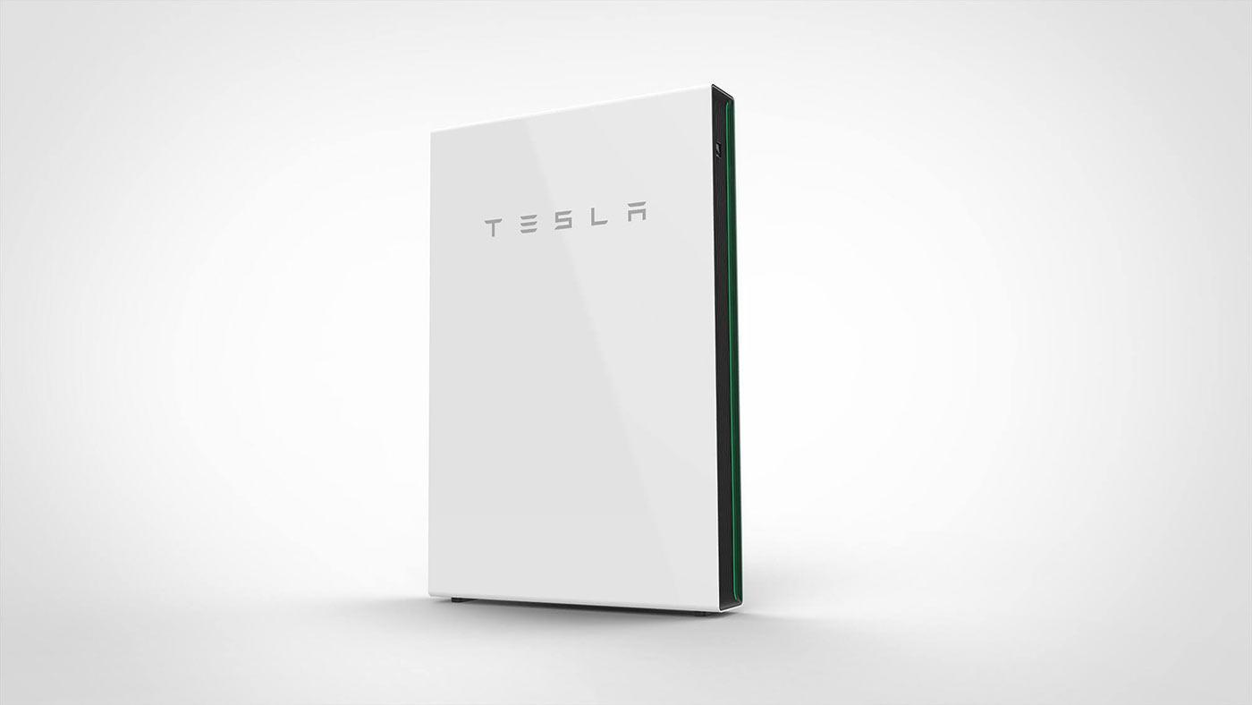 Аккумуляторные батареи TESLA Powerwall2