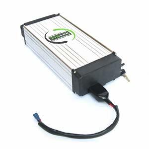 Литии-желязофосфатен акумулатор 48V 10Ah за електровелосипед