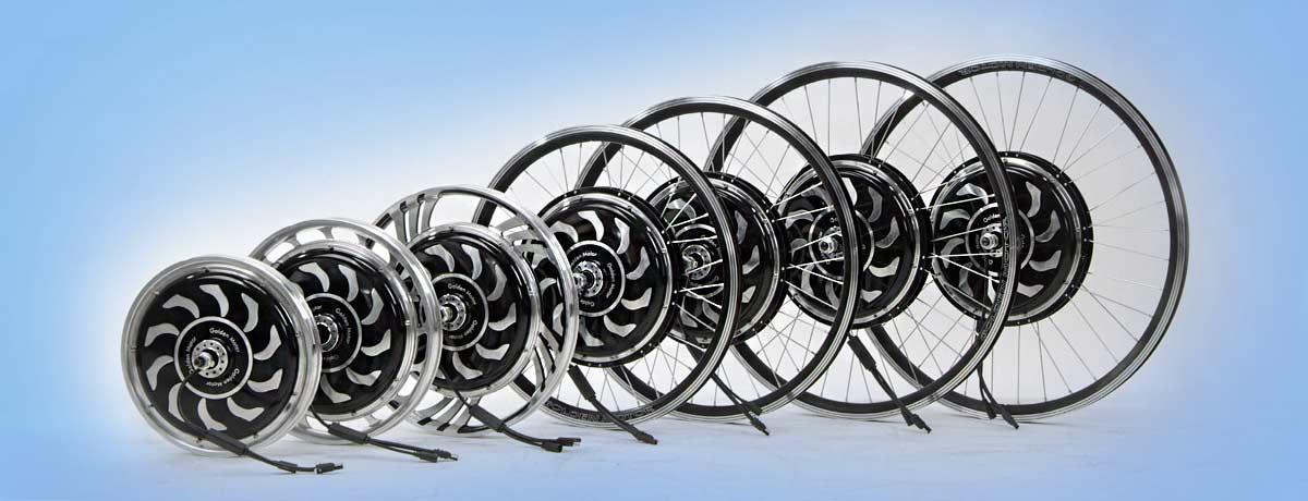 Мотор-колеса Golden Motor для велосипедов
