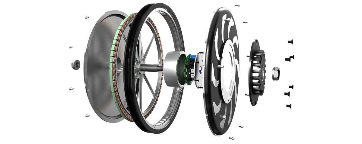Устройство мотор-колеса Golden Motor