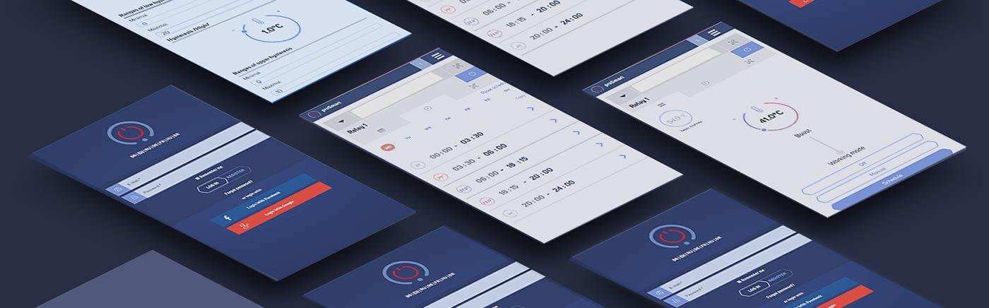 Мобилно приложение proSmart за дистанционно управление на електроуреди