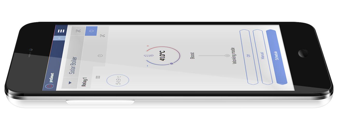 Управление на електроуреди с телефон през интернет