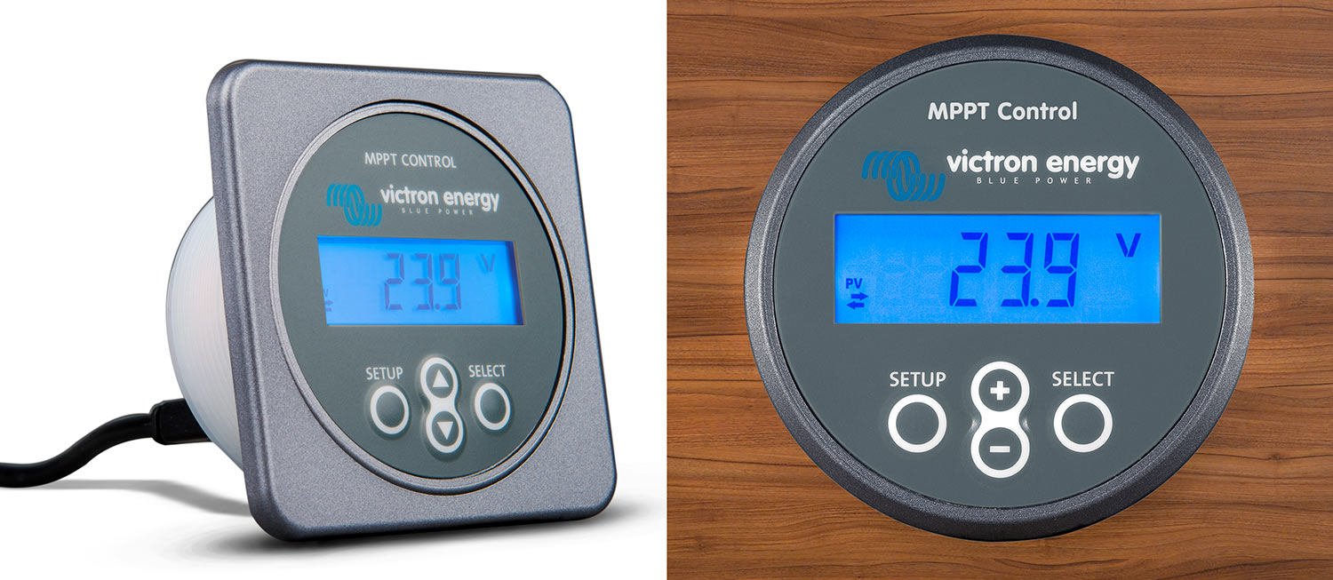 Display Victron Energy MPPT Control
