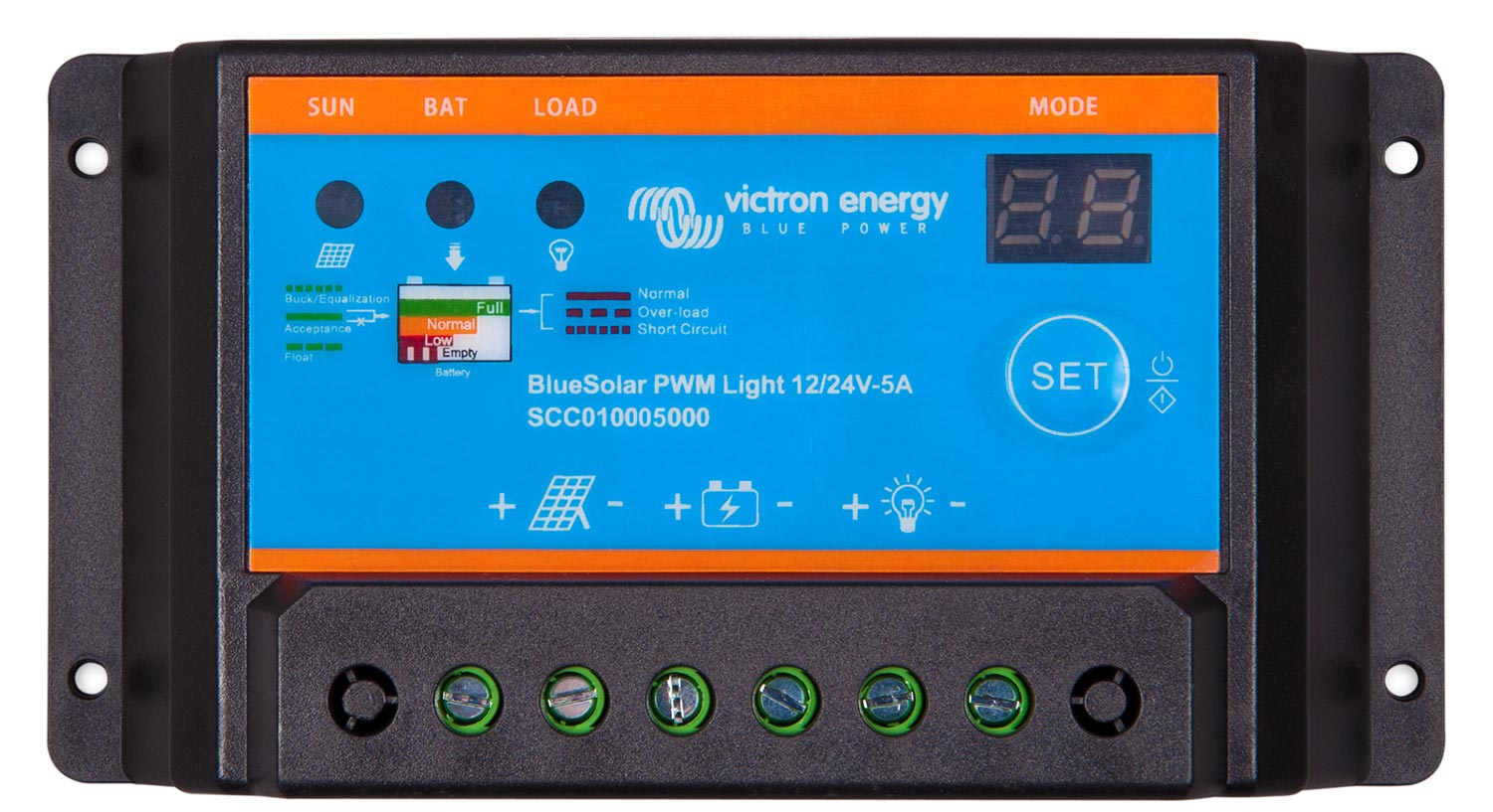 Controller Victron Energy PWM BlueSolar Light