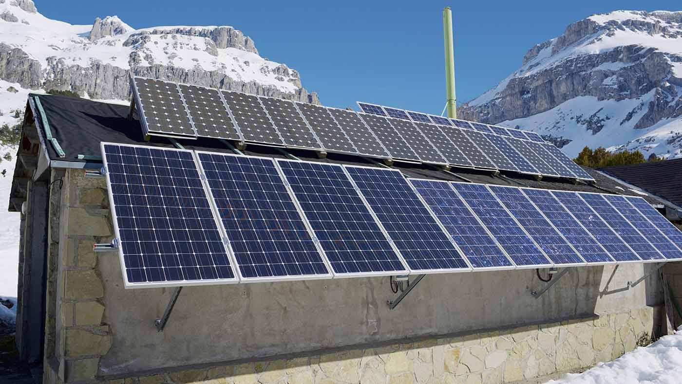 Автономна слънчева електростанция